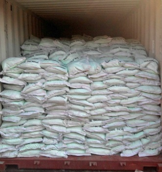 The order from India of water-soluble fertilizer NPK 19-19-19 loading and shipping